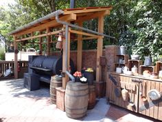 ***You could do the roof over the outdoor bar like this if that makes it easier???