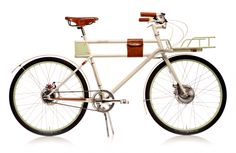 Faraday Porteur Electric Bicycle - ebike with a classic look. perfect if you don't want those unwanted attentions. Electric Assist Bicycle, Urban Electric, Electric Power, Velo Vintage, Vintage Vespa, Vintage Bicycles, Design Competitions, Bicycle Design, Looks Vintage