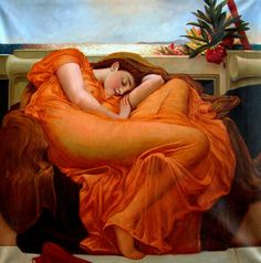 Lord Frederick Leighton Flaming June painting for sale, this painting is available as handmade reproduction. Shop for Lord Frederick Leighton Flaming June painting and frame at a discount of off. Illustrations, Frederick Leighton, World Famous Paintings, Famous Artists, Famous Artwork, Poster Print, Poster Poster, John William Waterhouse, Art History