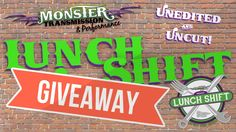 Monster Transmission Giveaway Winner Announced Live on Lunch Shift Giveaway, Lunch, Mustangs, Live, Lunches, Wild Mustangs