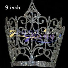 alibaba large beauty pageant crown | fashion wholesale large diamond pageant crown, View pageant crown, ZG ...
