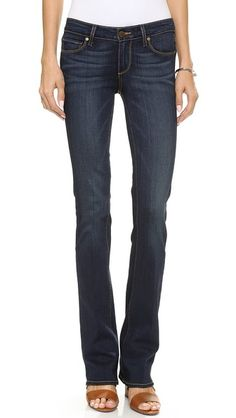 Paige Denim Transcend Manhattan Boot Cut Jeans | SHOPBOP SAVE 25% Use Code: INTHEFAM