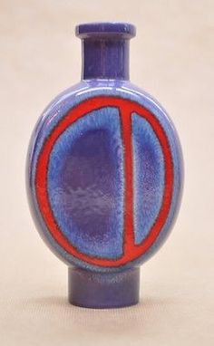 West German Fat Lava Vase Carstens Boutique - B 42 23 - Decor 'Murano' - H.Siery