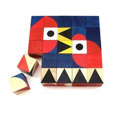 ShapeMaker Wooden Toy Block Set  #toy #woodentoy #millergoodman