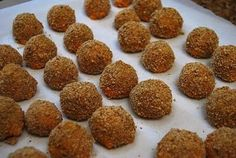 buffalo chicken balls - can someone else have a rehearsal dinner i have to cook for?!? i have so many good new appetizer recipes!!! style