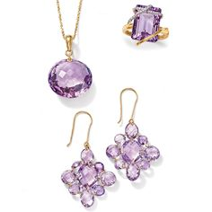 >>Click on the Amethyst Jewelry to browse the Ross-Simons collection of amethyst jewelry now, and see the infinite possibilities of purple!