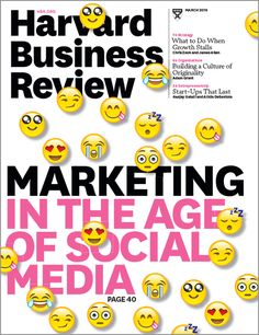 Nice HBR issue on social culture focused marketing and Winback #learning
