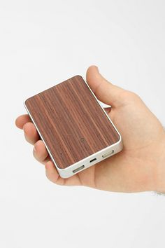 Wooden Portable Charger