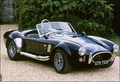 AC Cobra    Its purposefully muscular features have been replicated by countless kit-car manufacturers. There is a good reason for this.