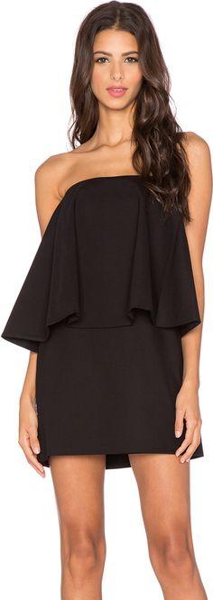 Alexis Tabitha Strapless Flounce Mini Dress women fashion outfit clothing style apparel @roressclothes closet ideas