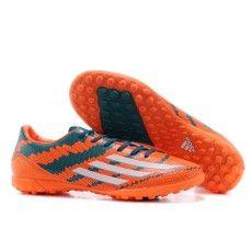 purchase cheap 2d478 eb1aa Adidas Adizero F50 Messi Leo TF Fodboldstøvler Orange Grøn