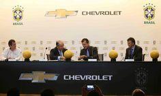 Chevrolet renueva como patrocinador de la Selección Brasileña de Fútbol