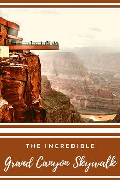 The Grand Canyon Skywalk is a glass walkway set at the edge of the rim . Enjoy wonderful views round and through the Skywalk! Glass Walkway, Grand Canyon Tours, The Incredibles