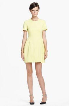 Mcginn 'Taylor' Short Sleeve Dress YELLOW MELLOW