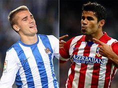 Griezmann, Lacazette y Diego Costa son los goleadores más rentables de Europa