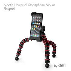 Grifiti Nootle Universal Phone Flexpod Flexible Tripod Adjustable Mount and large Flex Stand For All Smartphones iPhones Samsung Nokia HTC For Photos Videos Movies >>> See this great product.