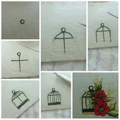 Gaiola Mini One, Ladder Decor, Nail Art, Manicures, Album, Nail Stickers, Nail Art Kids, Home Salon, Simple Drawings For Kids