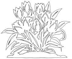Схемы вытынанок - цветы. яйца. зайцы. и. Тема - цветы.  А до этого я...