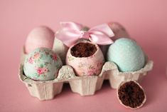 """Maintenant que vous avez votre sac """"Bags Bunny"""" pour la chasse aux chocolats de ce week-end, il vous faut des gourmandises à mettre dedans! Et vous commencer à me connaître, il faut que ce soit bon..."""