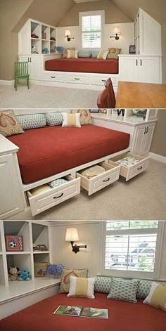 Cool 63 Insanely Bed Storage Ideas for Small Spaces https://besideroom.co/bed-storage-ideas-small-spaces/