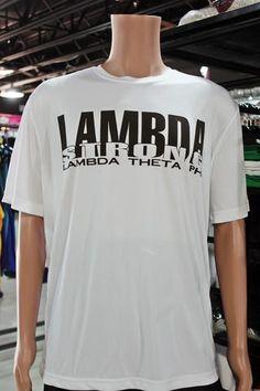Lambda Strong White Dri-Fit | Lambda Theta Phi