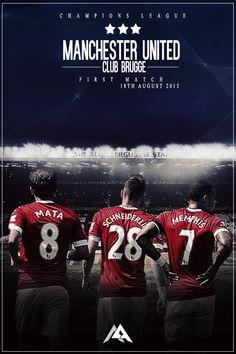 Match poster: Manchester United vs Club Brugge