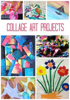 Collage Art Projects for Kids