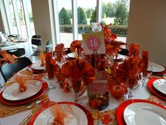 Thanksgiving in Orange (Holiday Tables 2013 Idlewild Baptist)