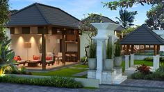 Rumah model villa minimalis