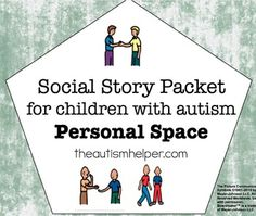 This is a collection of 3 social stories about common behavior problems. The stories included are:- Hands to Yourself- Personal Space - When You Can Give a HugSocial stories are an effective and easy intervention to use for a variety of behaviors! These stories are short stories accompanied by visuals to help children with autism and Aspergers behave appropriately in social situations.