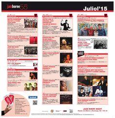 Concerts agenda July 2015