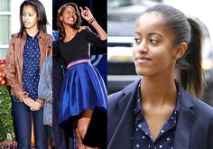 Malia Obama: The most influence teen fashion icon (see pics)[her every walk my love there.hr every here my love.khalid hassan.