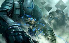 Asuran from Guild Wars 2, by Kekai Kotaki