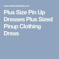 Plus Size Pin Up Dresses Plus Sized Pinup Clothing Dress