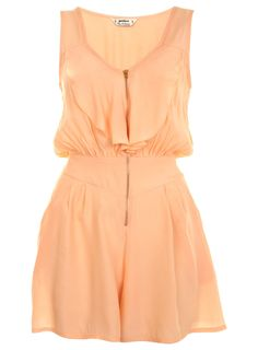 Petites Zip Front Romper - Rompers & Jumpsuits - Apparel - Miss Selfridge US $50.00