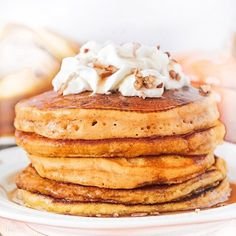 Hottie Detox by Dr. Pumpkin Spice Pancakes, Pumpkin Puree, Natural Supplements, Chocolate Flavors, Easy Healthy Recipes, Cravings, Detox, Eat Meals, Large Skillet