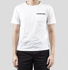 (トム ブラウン) THOM BROWNE 15SS トリコーロ 3LINE ポケットTシャツ_ホワイト MJS0... https://www.amazon.co.jp/dp/B01GC9RFSC/ref=cm_sw_r_pi_dp_27HwxbW9M82HP