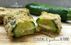 Le cotolette di zucchine al forno sono una ricetta facile, saporita e che permette di far mangiare le zucchine proprio a tutti, anche a chi, come ...