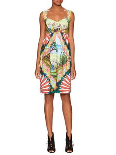 Printed Gathered A-Line Dress from Style Checklist: Vacation Essentials on Gilt