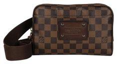 a17b83ec8fe07 Louis Vuitton Bumbag Rare Brooklyn Damier N41101 6809 (Authentic Pre-Owned)