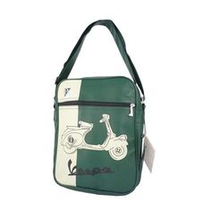Shoulder Bag Scooter Green, $35, now featured on Fab.