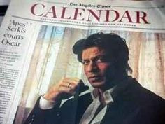 Embedded image permalink-SRK is the first Bollywood actor to be featured on the cover of the L.A. Times Calendar section.