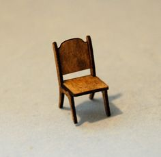 1/4 inch scale miniature-Oval Dining Room Table with Chairs