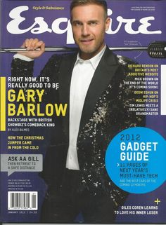 Esquire magazine Gary Barlow Hip Hop End of the world Magnus Carlsen Fashion