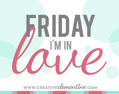 Friday I'm in Love: Little Blue Canoe    It has been a really long time since I featured a shop for some Friday lovin' on here. Etsy treasuries galore but not a specific shout out to a shop. I'm pretty peeved about a few bad shopping experiences I had earlier this week (I promise to explain in a long Clemmy style rant later). So peeved in fact that I am extra happy to spend my hard earned money at shops that don't disappoint! And as a lover of all things crafted and made in Canada I love…