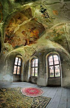 Castle - where legends are created by Patrycja Makowska, via Behance