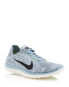 Nike Women's Free 4.0 Flyknit Lace Up Sneakers | Shoes❤ ❤ | Pinterest |  Running sneakers, Nike running and Running