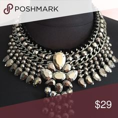 CHICO'S NEW STATEMENT NECKLACE CHICO'S NEVER WORN NEVER USED STATEMENT NECKLACE.  STUNNING ADDITION TO ANY OUTFIT. Chico's Jewelry Necklaces