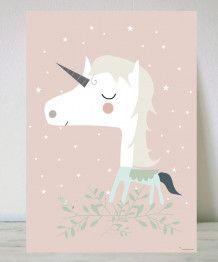 Lámina Unicornio
