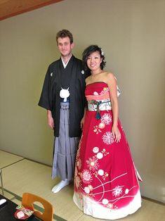 Découvrez les robes de mariées extraordinaires de ces Japonaises réalisées à partir de leurs kimonos traditionnels : épatant !